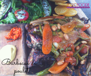 Barbecue de poulet