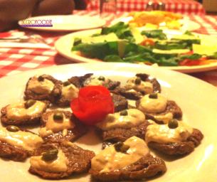 Vitello (viande de veau rôti)