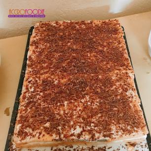 Gâteau fourré à la banane (kazakhstan)